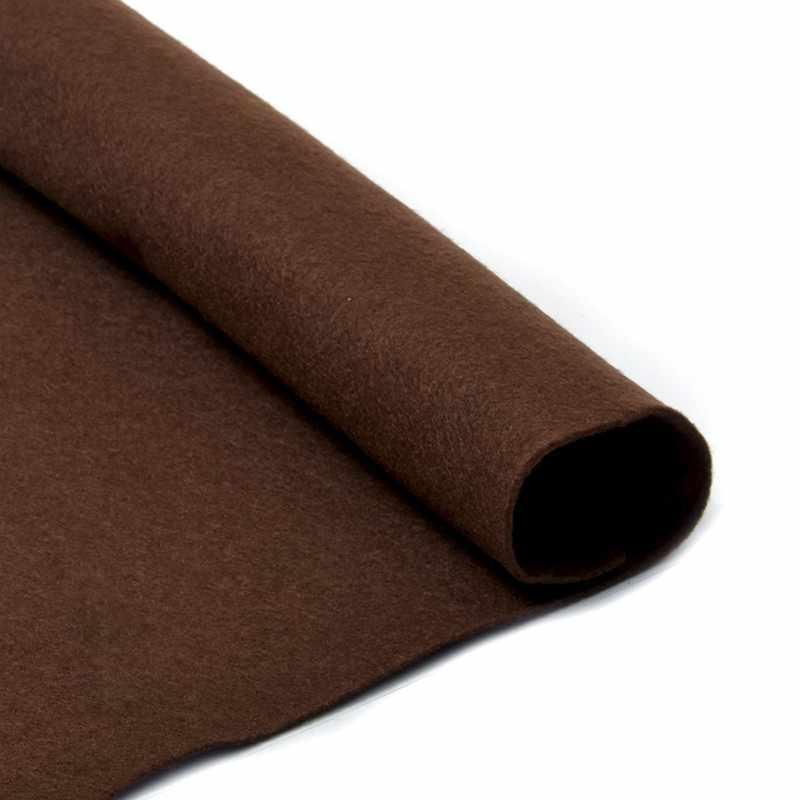 TBY.FLT-S1.687 Фетр листовой мягкий, т.коричневый