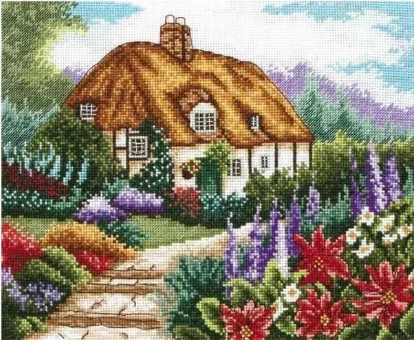 PCE0593 Сад в цвету