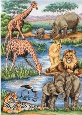 5678-1212 Животные Африки