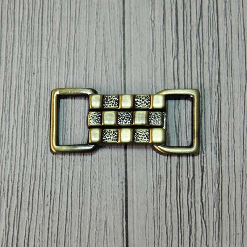 """GH 1025 Застёжка """"Micron"""" №12 шлифованная бронза"""