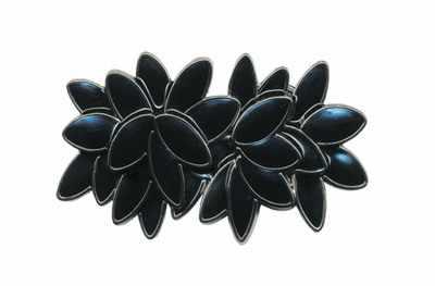 """GH 1069 Застёжка """"Micron"""" №06 черный никель (черный)"""
