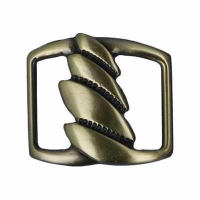 """GB 1275 Шлевка """"Micron"""" 30 х 25 мм №12 шлифованная бронза"""