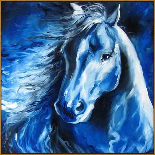 F-266 (Лунный конь) - мозаика Милато