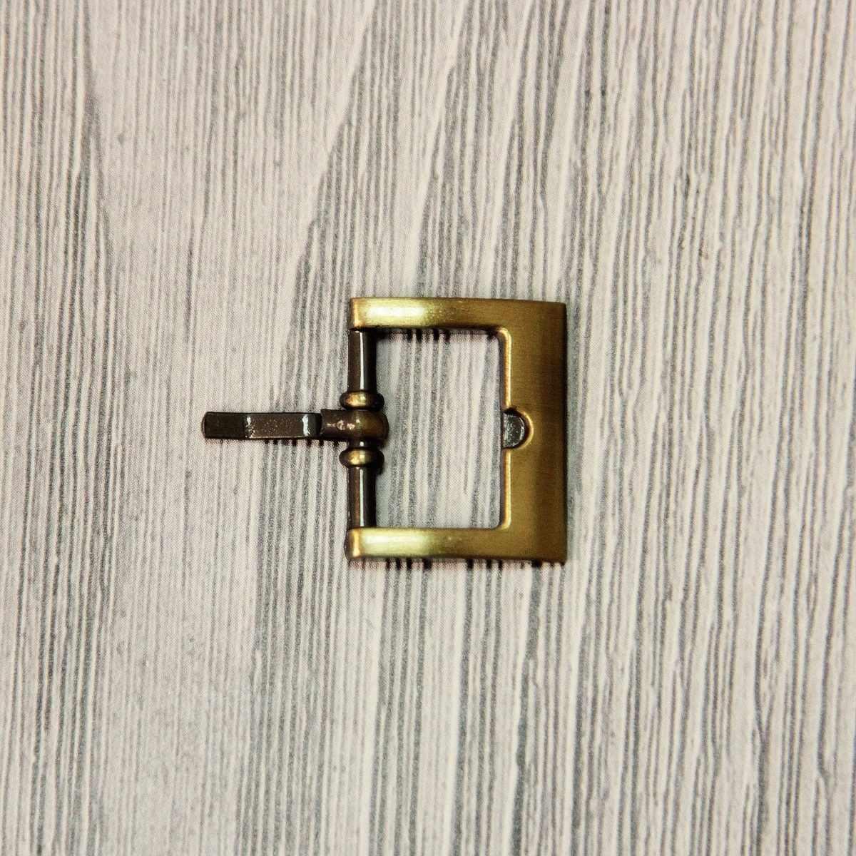 """GB 1221 Пряжка """"Micron"""" №12 шлифованная бронза"""