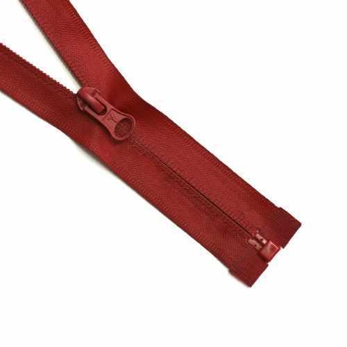 G105W Молния спираль 60 см декоративная с водонепрон. покрытием, цвет т.красный №145