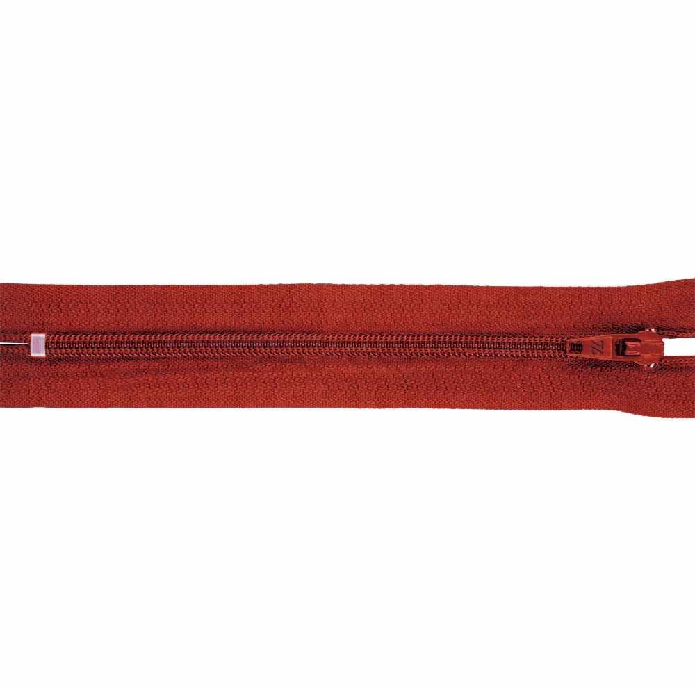 G004A Молния спираль н/р брючная 16 см, цвет красный №159