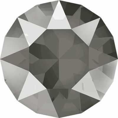 """1088 SS39 Стразы """"Сваровски"""" Crystal AB 8.16 мм, т.серый лак.(dark grey L111S)"""