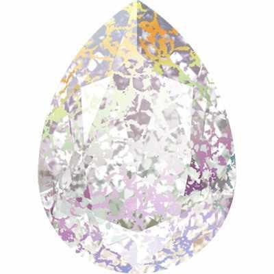 d9b3e24b78b26 4320 Cтразы Сваровски Crystal AB 18 х 13 мм, патина 001 WHIPA купить ...