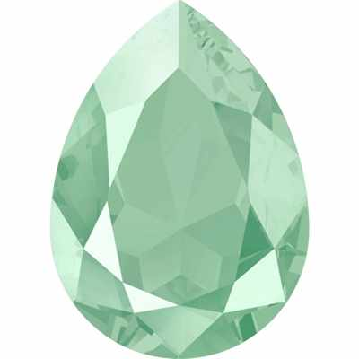 """4320 Стразы """"Сваровски"""" 18 х 13 мм, мятный лак. (mint green L115S)"""