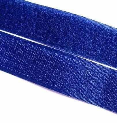 083 синий Липучка 20 мм