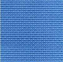 Канва Gamma К03 Аида голубой 50*50 11ct 45/10 кл.