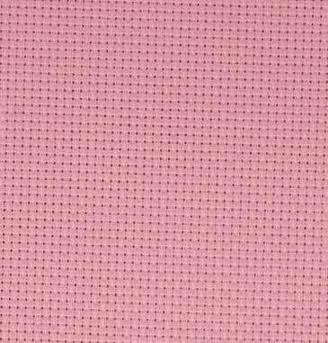 Канва Gamma К04 Аида розовый 50*50 14ct 55/10 кл.