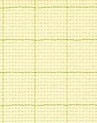Канва Gamma К04R Аида кремовый в клетку 50*50 14ct 55/10 кл.