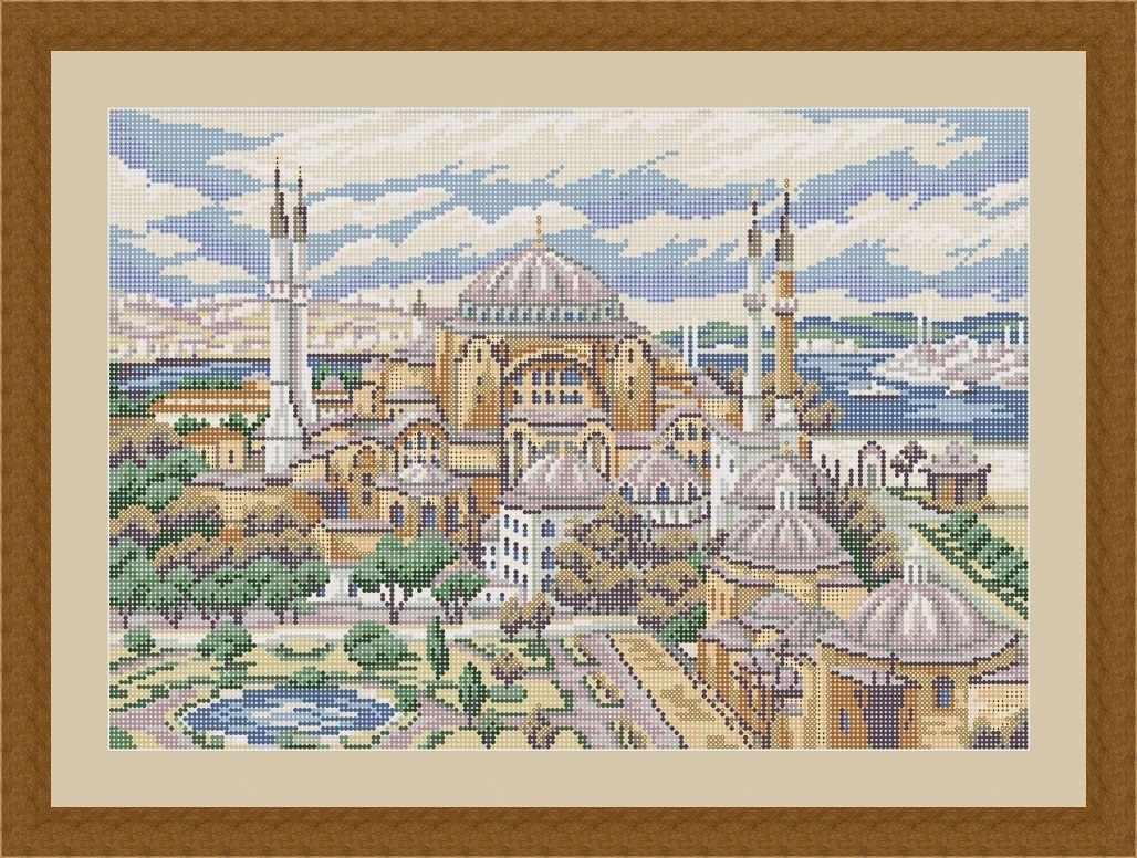 КАЮ4041 Стамбул - схема для вышивания (Матрёшкина)