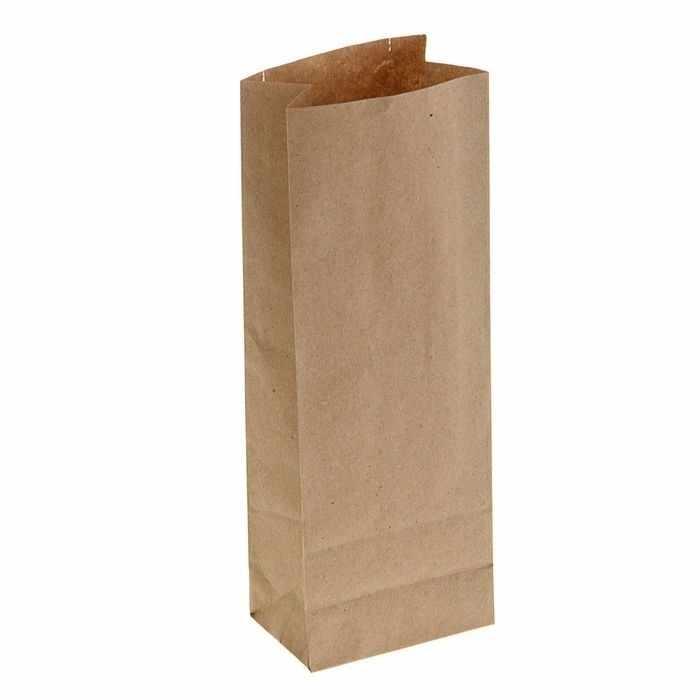 1295500 Пакет крафт бумажный фасовочный