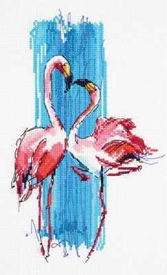 "ПТ-7014 ""Розовые фламинго"""
