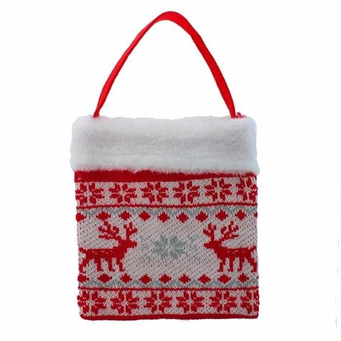 """1308763 Подарочная сумка """"Олени"""""""