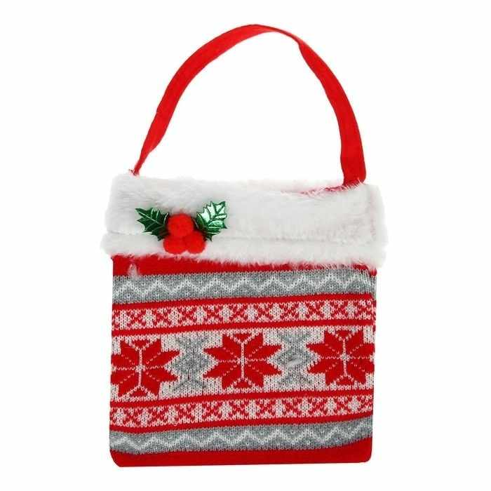 """1308764 Подарочная сумка """"Ягодки"""""""