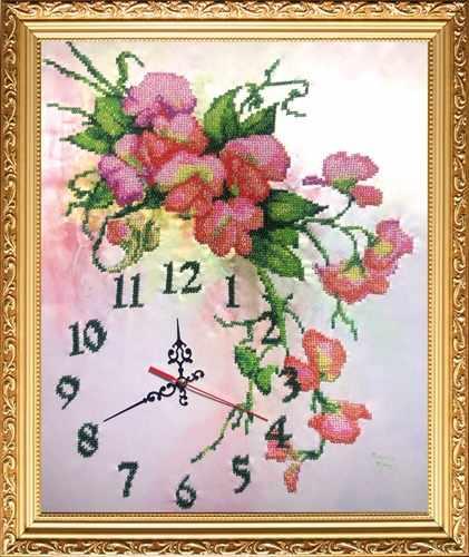 КВ527 Часы Нежность - набор
