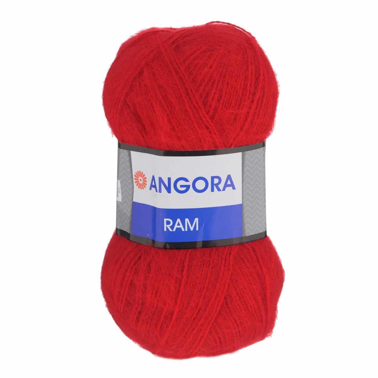 Пряжа YarnArt Angora Ram Цвет.156 Красный