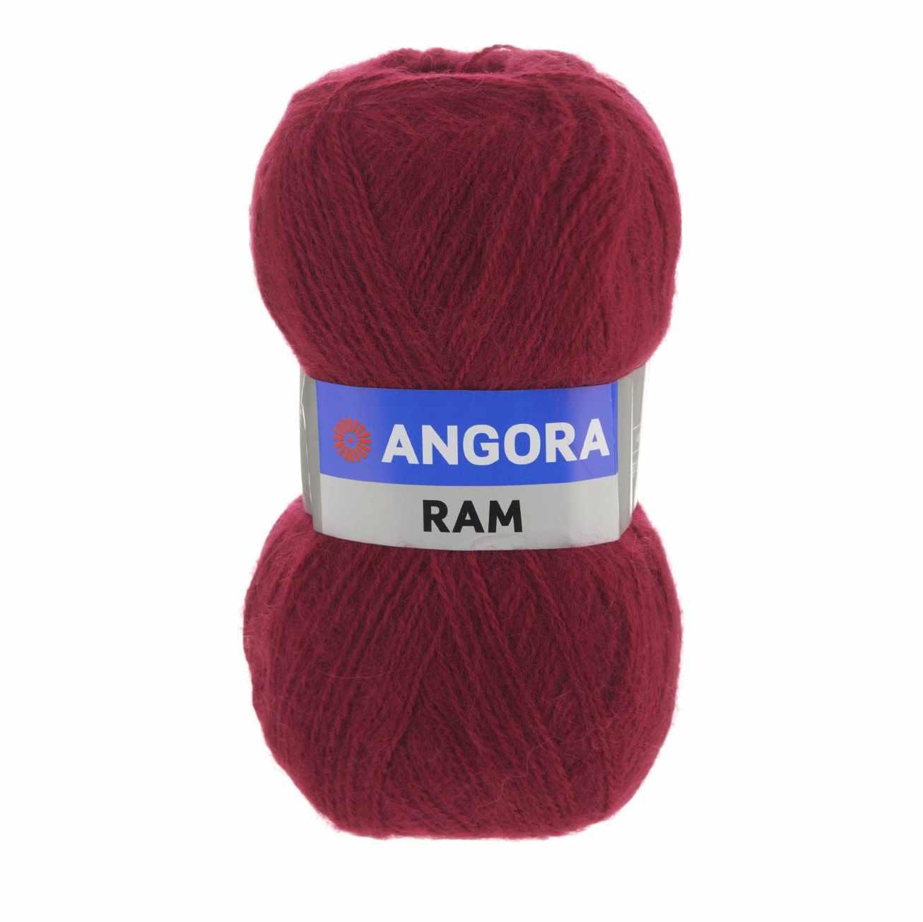 Пряжа YarnArt Angora Ram Цвет.3024 Красно-оранжевый