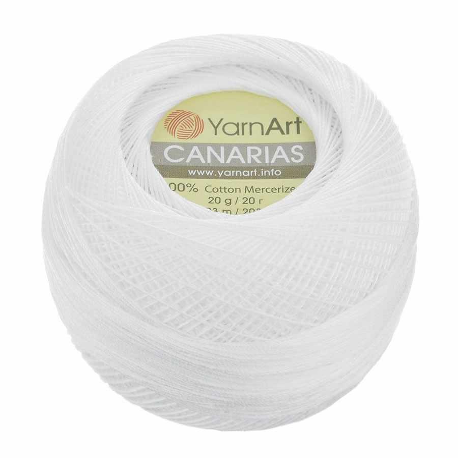 Пряжа YarnArt Canarias Цвет.0000 Белый
