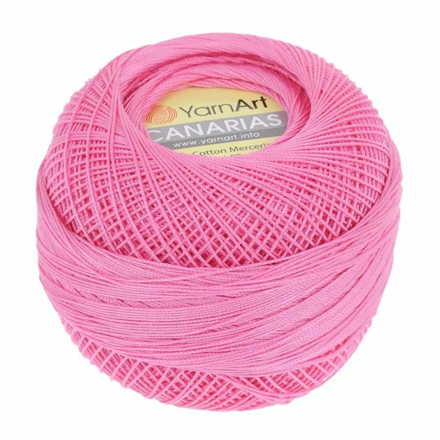 Пряжа YarnArt Canarias Цвет.5001 Ярко-розовый