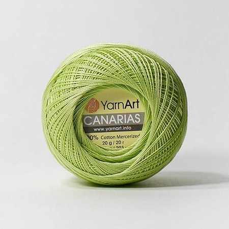 Пряжа YarnArt Canarias Цвет.5352 Зеленый