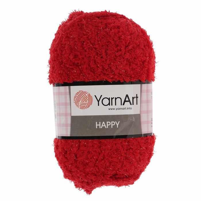 Пряжа YarnArt Happy Цвет.783 Красный