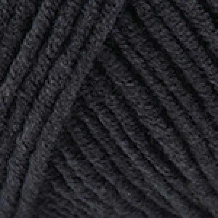 Пряжа YarnArt Jeans Цвет.53 Черный