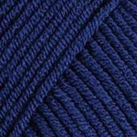 Пряжа YarnArt Jeans Цвет.54 Глубокий синий