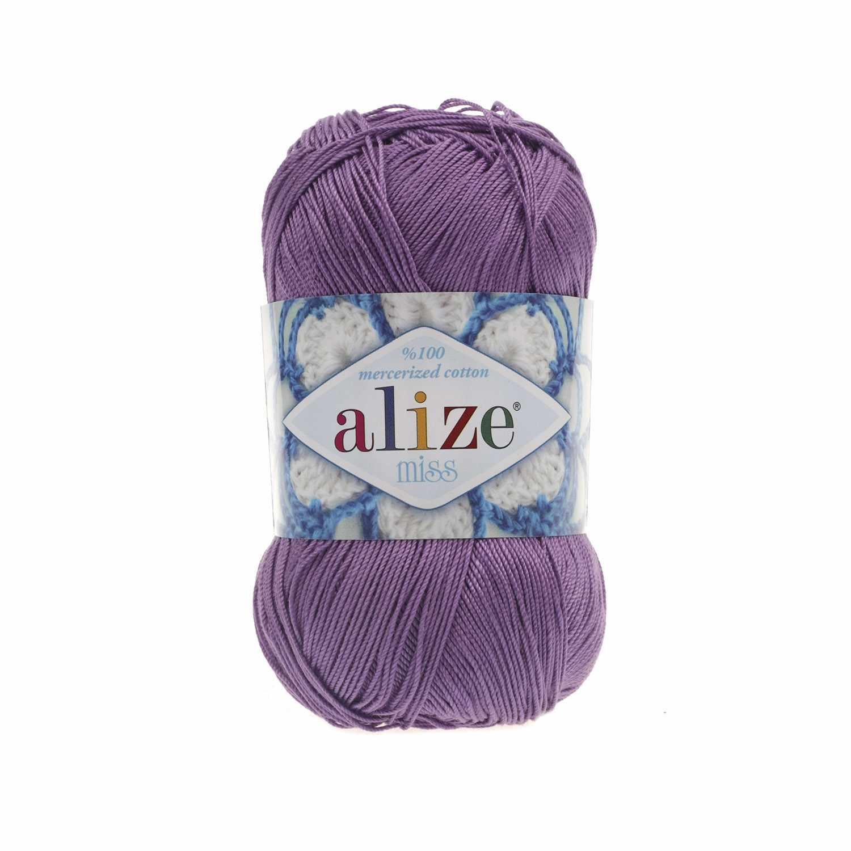 Пряжа Alize Miss Цвет.247 Фиолетовый