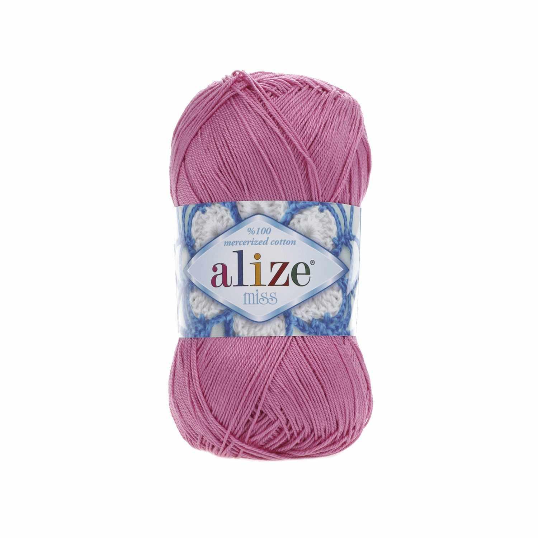 Пряжа Alize Miss Цвет.264 Розовый