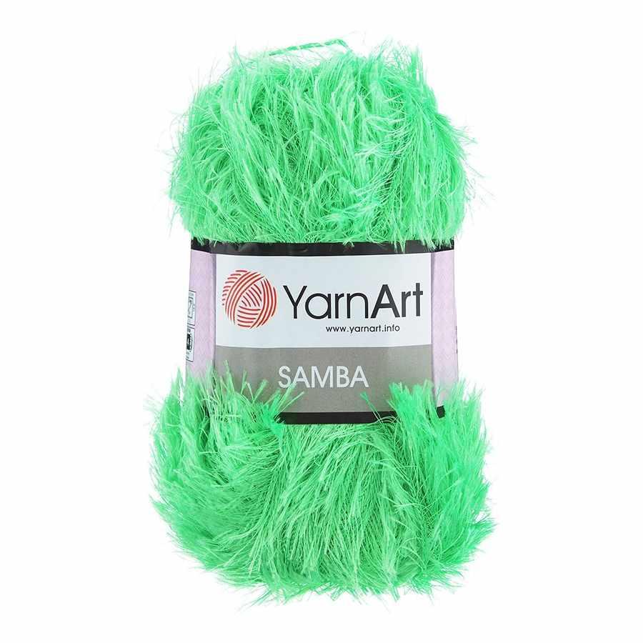 Пряжа YarnArt Samba Цвет.09 Ярко салатовый