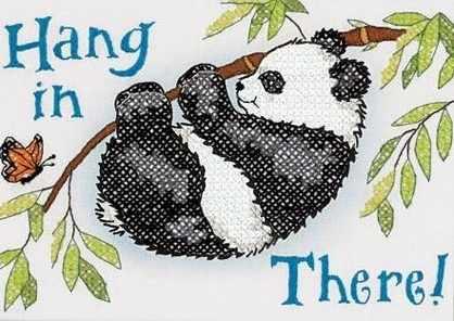 65088-DMS Hang in There Panda