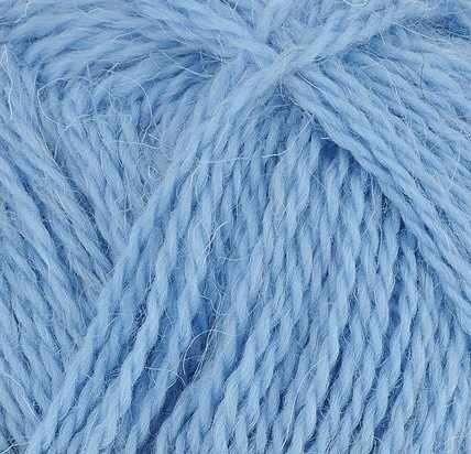 Пряжа Пехорка Деревенская Цвет.177 Голубое небо