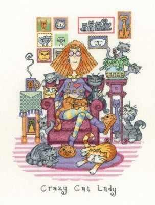 CRCL1229 Безумная женщина-кошка