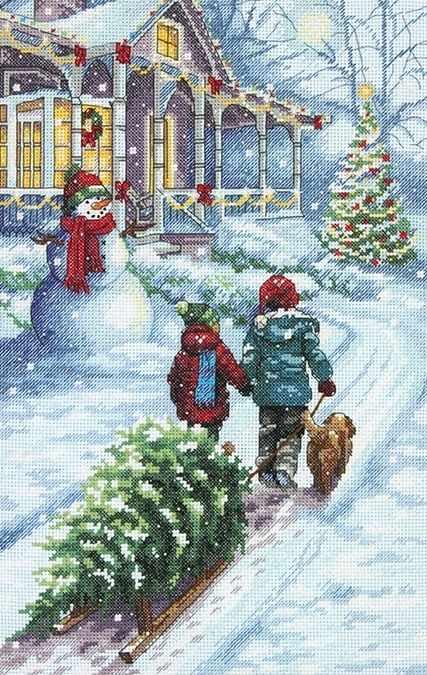 8960-DMS Традиция в Рождество