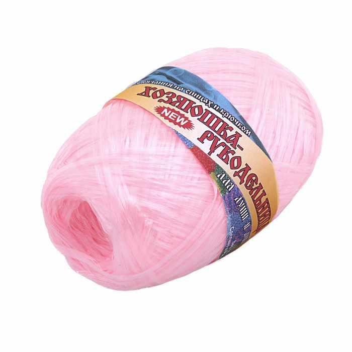 Пряжа Хозяюшка-рукодельница Для души и душа Цвет. Розовый сон