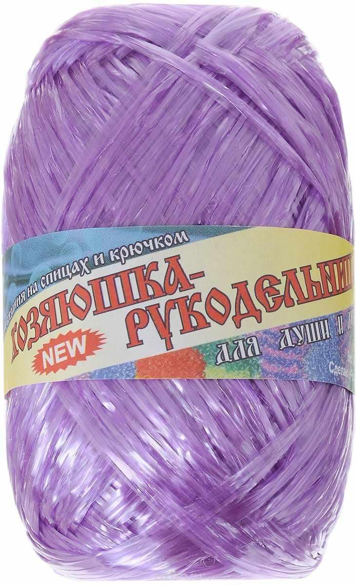Пряжа Хозяюшка-рукодельница Для души и душа Цвет. Пурпурный