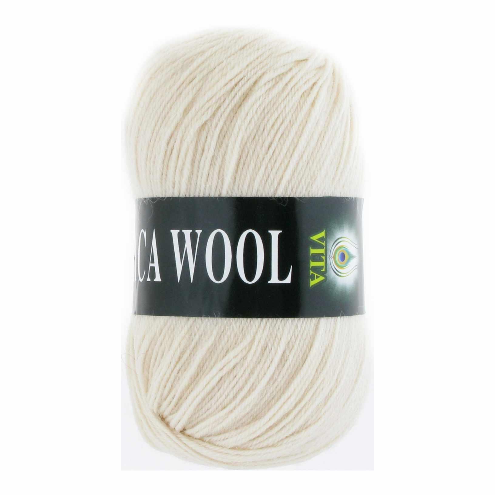 Пряжа VITA Alpaca Wool Цвет.2974 Экрю