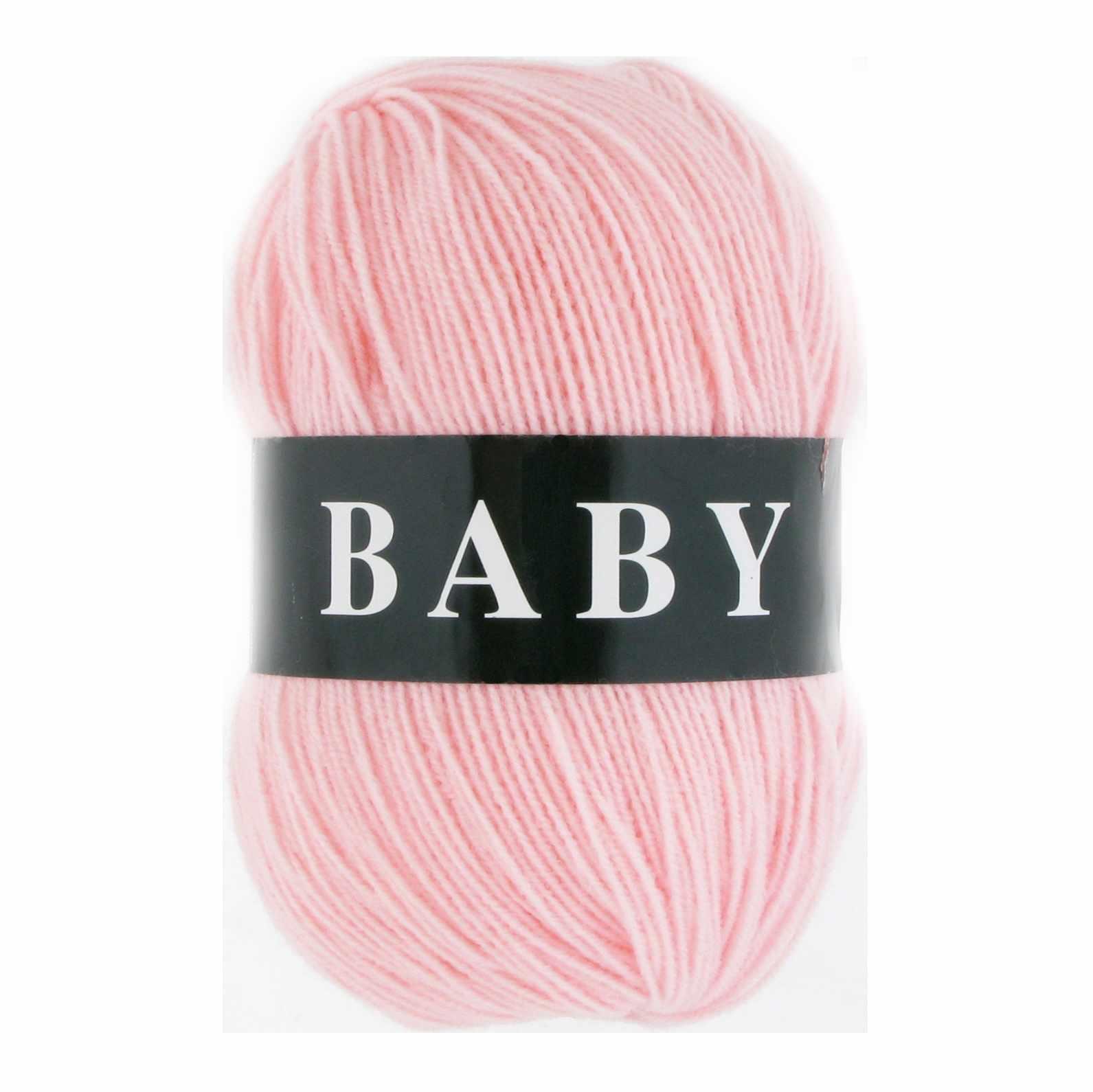 Пряжа VITA Baby Цвет.2881 Нежно-розовый