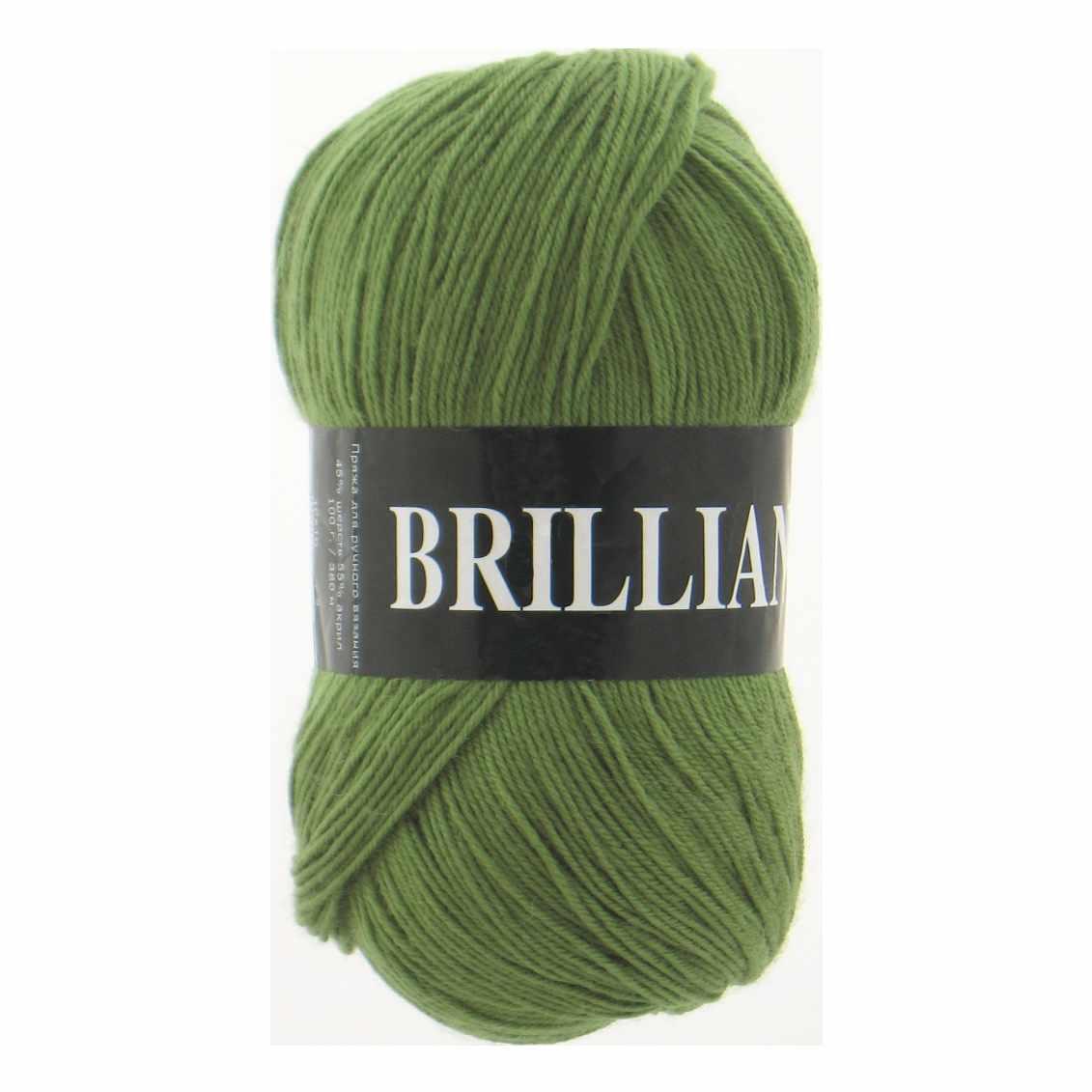 Пряжа VITA Brilliant Цвет.4959 Ссветло-оливковый