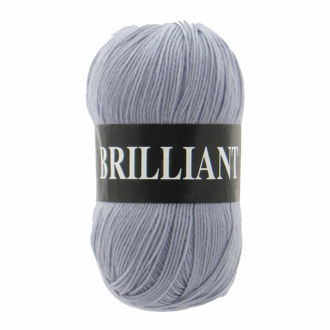 Пряжа VITA Brilliant Цвет.4963 Светло-серый