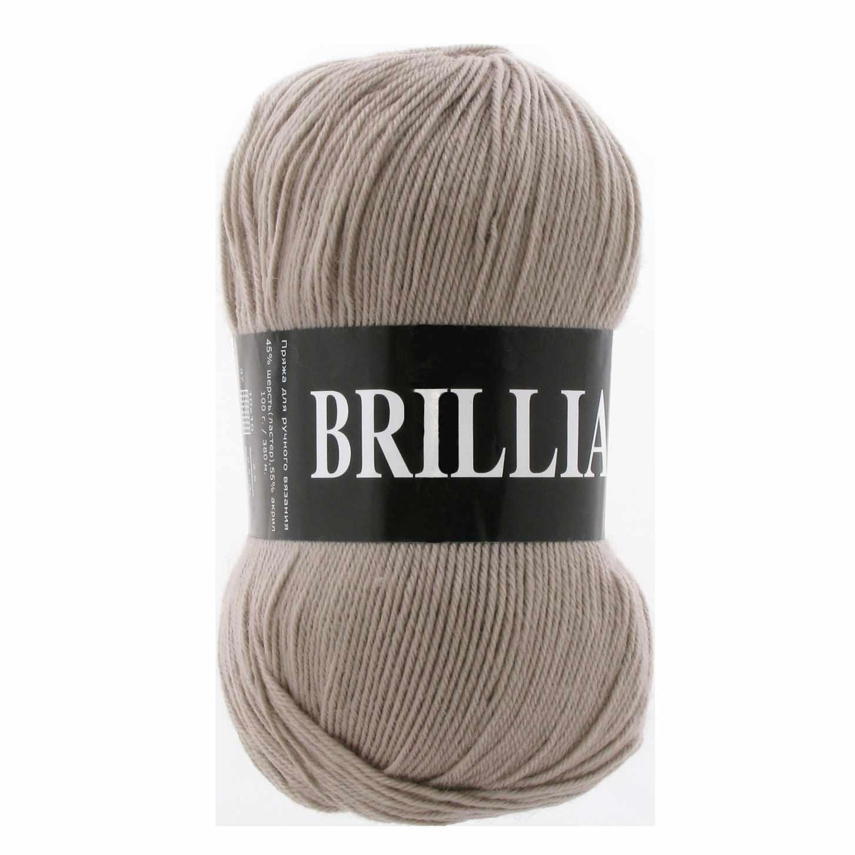 Пряжа VITA Brilliant Цвет.4966 Холодный бежевый