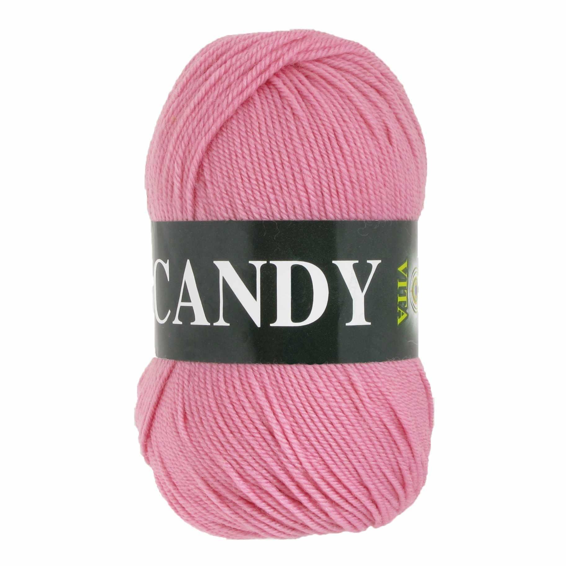 Пряжа VITA Candy Цвет.2516 Розовый
