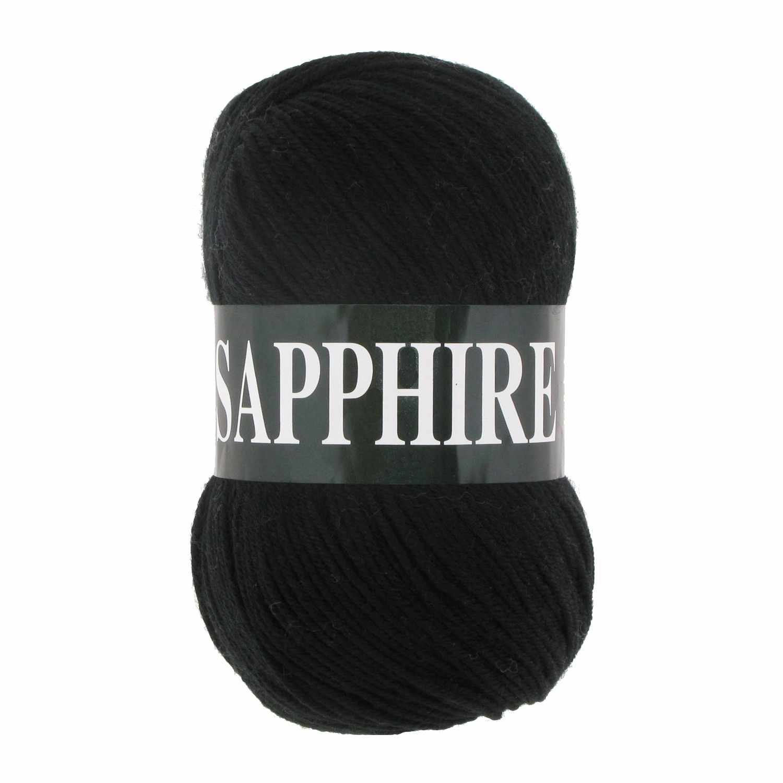 Пряжа VITA Sapphire Цвет.1502 Черный