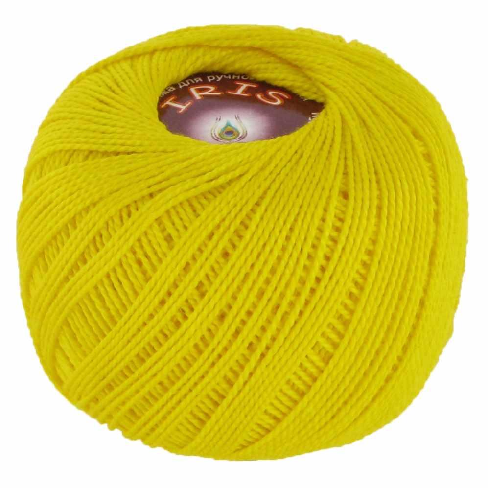 Пряжа VITA Iris Цвет.2123 Желтый