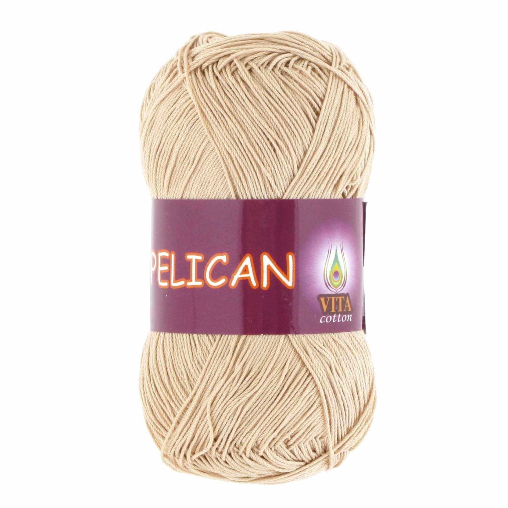 Пряжа VITA Pelican Цвет.3976 Светло-бежевый