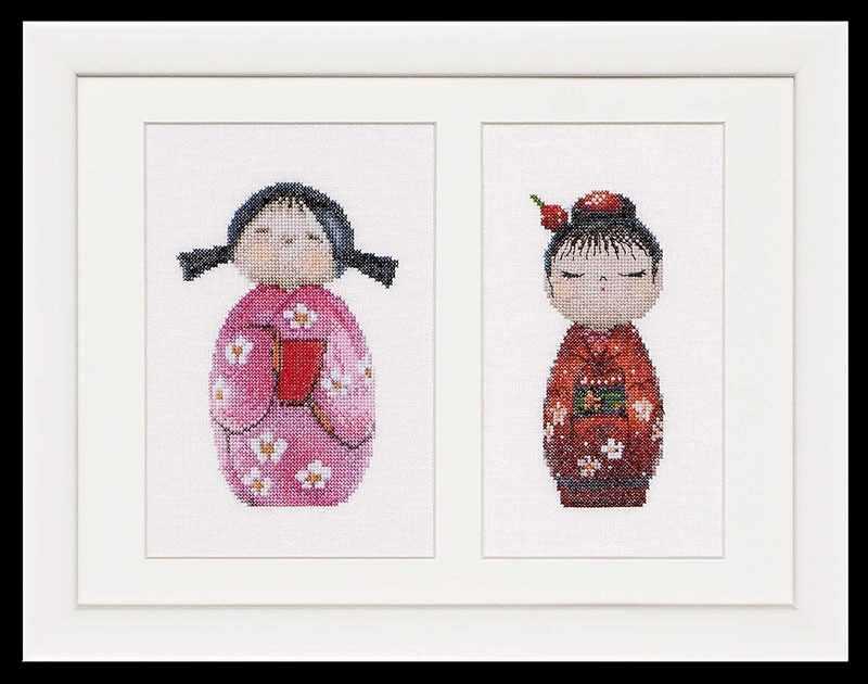 0547 Куклы Kokeshi